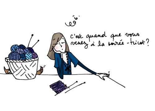 Apprendre tricoter dessin  Nos Conseils